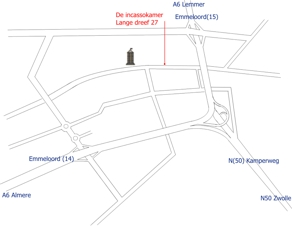 De incassokamer netherlands directions from the direction of almere ccuart Images